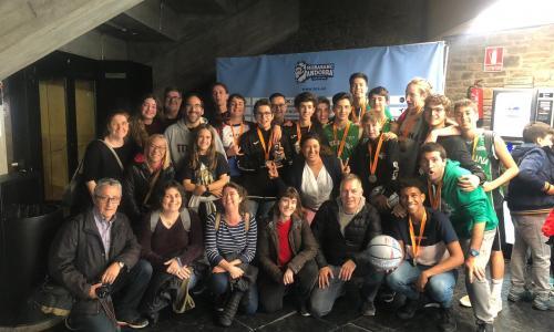 El cadet Verd masculí ha anat a un torneig a Andorra